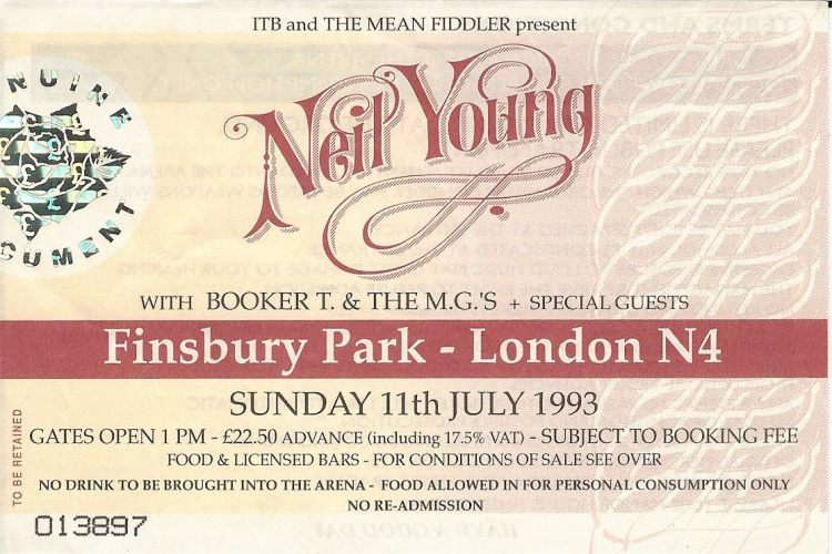 19930711 Neil Young